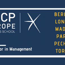 Bachelor in Management Escp Erope