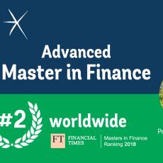 Master in Finance di ESCP Europe al 2° posto nel ranking del Financial Times