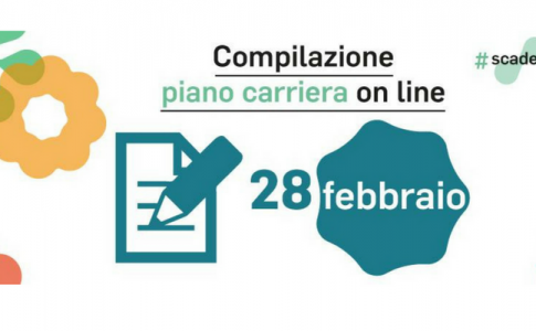 Scadenza compilazione piano carriera UniTo: deadline for the compilation of the career plan