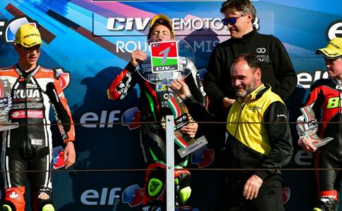 2WheelsPoliTo vince le gare del 1° round del Campionato Italiano Velocità