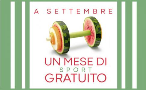Cus - mese di sport gratuito